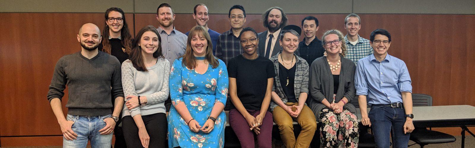 14 Scholars that presented at symposium