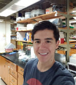 Mitchell Lavarias in Laboratory