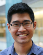 Pre-doc trainee Andrew Sung